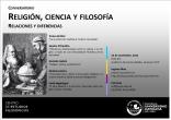 Conversatorio sobre religión, ciencia y filosofía. Relaciones y diferencias