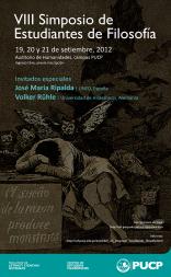 VIII Simposio de Estudiantes de Filosofía de la Pontificia Universidad Católica del Perú
