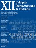 """""""Metafilosofía"""", XII Coloquio Iberoamericano de Filosofía Analítica"""