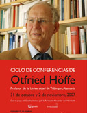 Ciclo de conferencias de Otfried Höffe