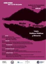 """Cine foro: """"Mujer y violencia. Leyes, políticas públicas y discursos"""""""