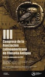 III Congreso de la Asociación Latinoamericana de Filosofía Antigua (ALFA)