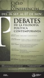 Debates de la filosofía política contemporánea