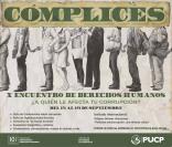 X Encuentro de Derechos Humanos – Cómplices