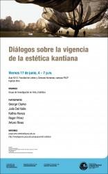 Diálogos sobre la vigencia de la estética kantiana