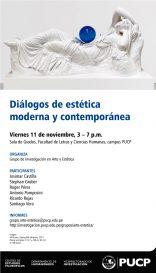 Diálogos de estética moderna y contemporánea
