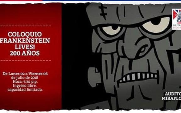 Imagen destacada de Coloquio FRANKENSTEIN LIVES! 200 años. Una mirada desde el cine, la música, la lietratura y más