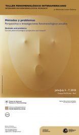Taller fenomenológico interamericano / Interamerican Phenomenological Workshop