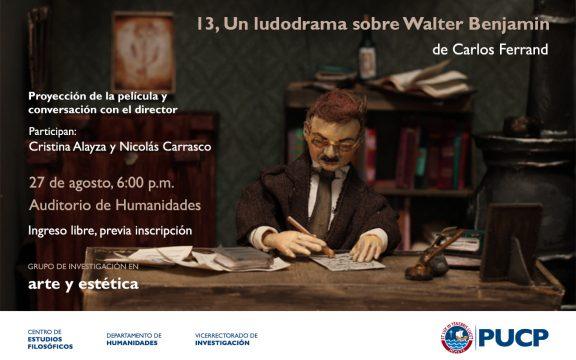 Imagen destacada de 13. Un ludodrama sobre Walter Benjamin, de Carlos Ferrand. Proyección de la película y conversación con el director