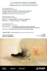El conflicto por lo sensible. Diálogos sobre arte y estética de fines del siglo XIX