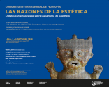 """Congreso internacional """"Las razones de la estética. Debates contemporáneos sobre los sentidos de la aisthesis"""""""