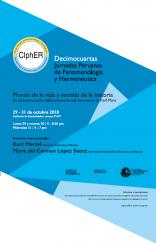 XIV Jornadas peruanas de fenomenología y hermenéutica