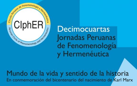 Imagen destacada de XIV Jornadas peruanas de fenomenología y hermenéutica
