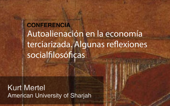 Imagen destacada de Conferencia de Kurt Mertel (University of Sharjah, United Arab Emirates)