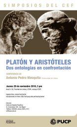 """Simposios del CEF. Conferencia """"Platón y Aristóteles: dos ontologías en confrontación"""" de Antonio Pedro Mesquita (Universidad de Lisboa)"""