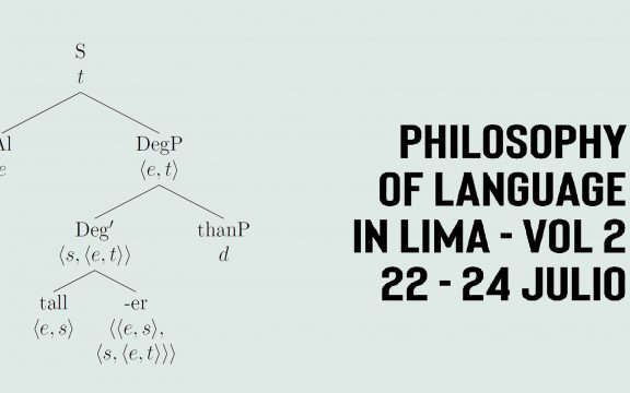 "Imagen destacada de Congreso ""Philosophy of language in Lima"""