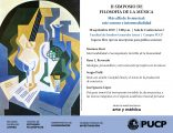 II Simposio de filosofía de la música: «Más allá de lo musical: arte sonoro e intermedialidad»