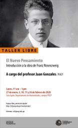 Taller libre: El Nuevo Pensamiento. Introducción a la obra de Franz Rosenzweig